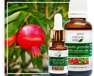 YOUR NATURAL SIDE Olej nierafinowany pestki granatu organic 10ml pipeta