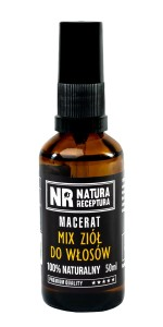 NATURA RECEPTURA Macerat mix ziół do włosów 50ml