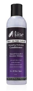 THE MANE CHOICE Easy On The CURLS - Detangling Hydration Conditioner Odżywka bez spłukiwania do włosów kręconych i splątanych 236,59ml
