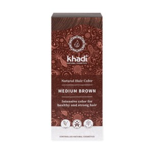 KHADI Medium Brown - Średni brąz 100g