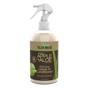 TALIAH WAAJID Green Apple & Aloe Nutrition Leave-In Conditioner Nawilżająca odżywka w mgiełce do reanimacji skrętu 355ml