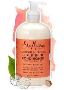 Shea Moisture Coconut & Hibiscus Conditioner 384ml
