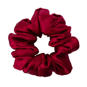 HAIRY TALE HAIRWEAR Scrunchie ROYAL WINE - Gumka jedwabna