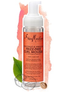Shea Moisture Coconut & Hibiscus Frizz-free Curl Mousse 220ml