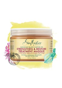 Shea Moisture Jamaican Black Castor Oil Strenghten & Restore Treatment Masque 340g