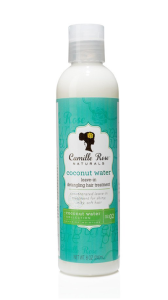 Camille Rose Naturals Coconut Water Leave In Detangling Hair Treatment odżywka bez spłukiwania 8oz