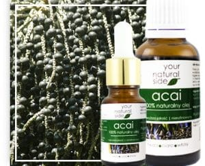 YOUR NATURAL SIDE Olej nierafinowany acai 10ml pipeta