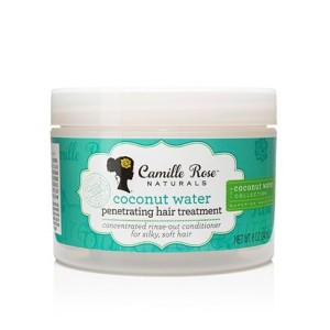 Camille Rose Naturals Coconut Water Penetrating Hair Treatment maska 8oz