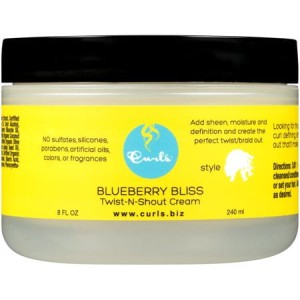 Curls Blueberry Bliss Twist-N-Shout Cream krem do stylizacji 240ml